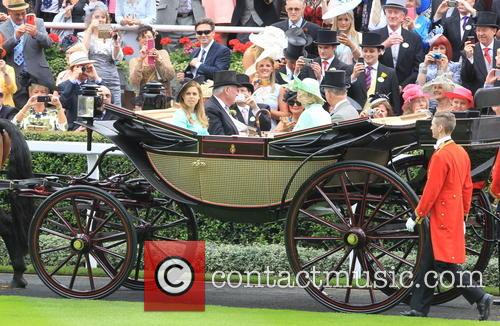 Prince Charles, Camilla, Duchess Of Cornwall, Princess Beatrice Of York and Lord Vestey 2