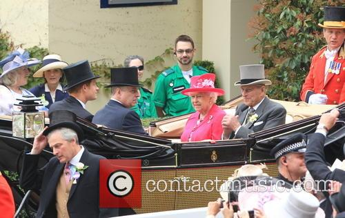 Prince Harry, Prince Andrew, Duke Of York, Queen Elizabeth Ii, Prince Philip and Duke Of Edinburgh 6