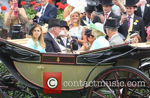 Prince Charles, Camilla, Duchess Of Cornwall, Princess Beatrice Of York and Lord Vestey 1
