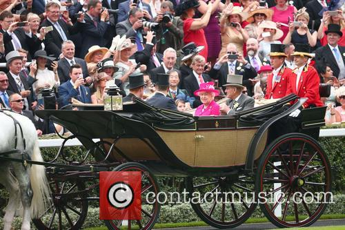 Prince Philip, Duke Of Edinburgh, Queen Elizabeth Ii, Prince Andrew and Prince Harry 2