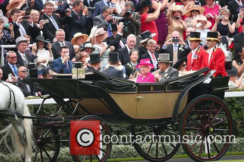 Prince Philip, Duke Of Edinburgh, Queen Elizabeth Ii, Prince Andrew and Prince Harry 1