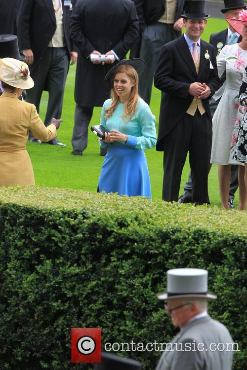 Princess Beatrice and Princess Anne 2