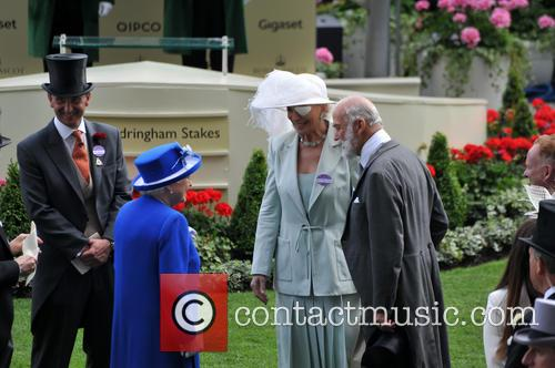 Hrh Queen Elizabeth Ii, Duchess Of Gloucester and Duke Of Gloucester 3