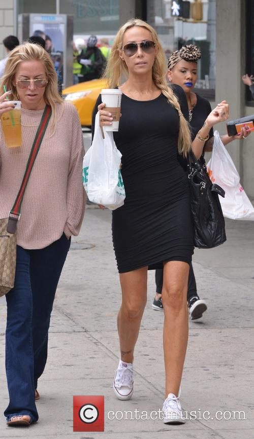 Tish Cyrus out and about in New york...