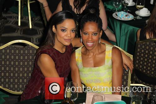 Tessa Thompson and Regina King 1