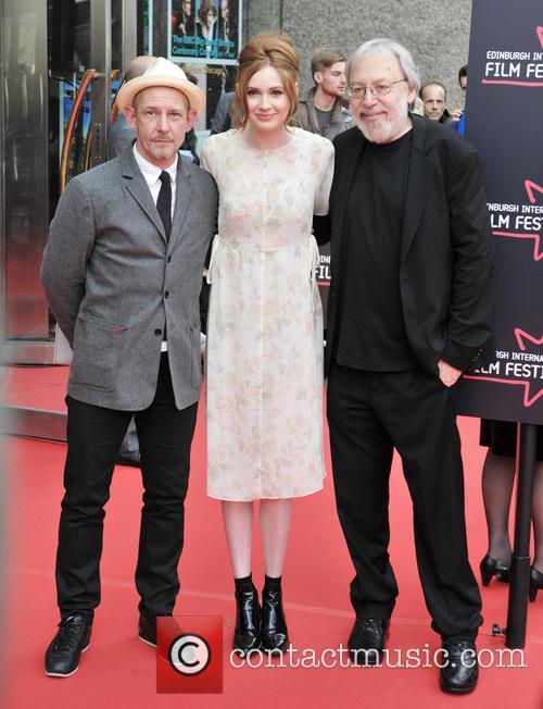 Ian Hart, Karen Gillan and Kenneth Turan 2
