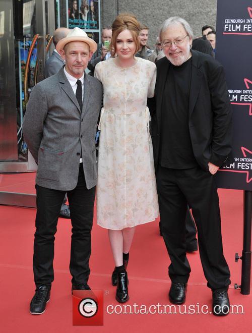 Ian Hart, Karen Gillan and Kenneth Turan 1
