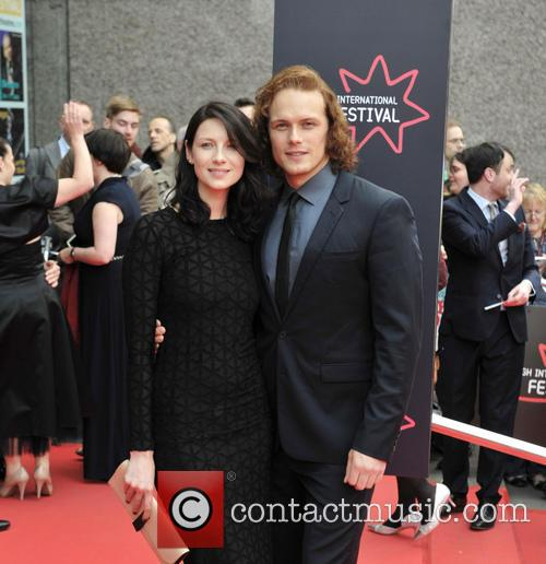 Caitriona Balfe and Sam Heughan 1