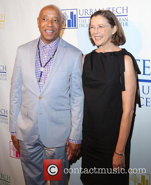 Russell Simmons and Annette Bening 3