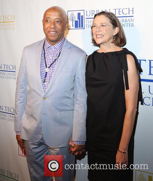 Russell Simmons and Annette Bening 6