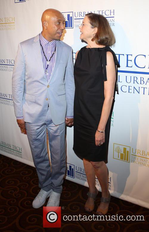 Russell Simmons and Annette Bening 1