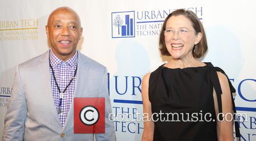 Russell Simmons and Annette Bening 7
