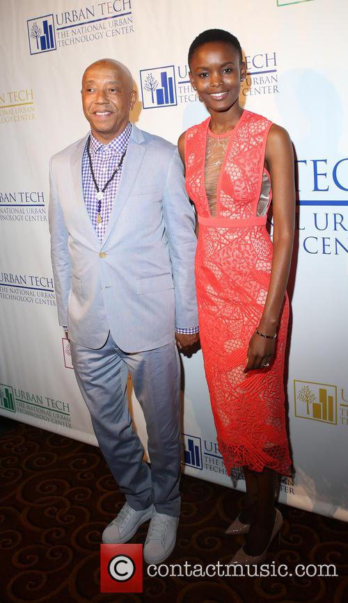 Russell Simmons and Flaviana Matata 8
