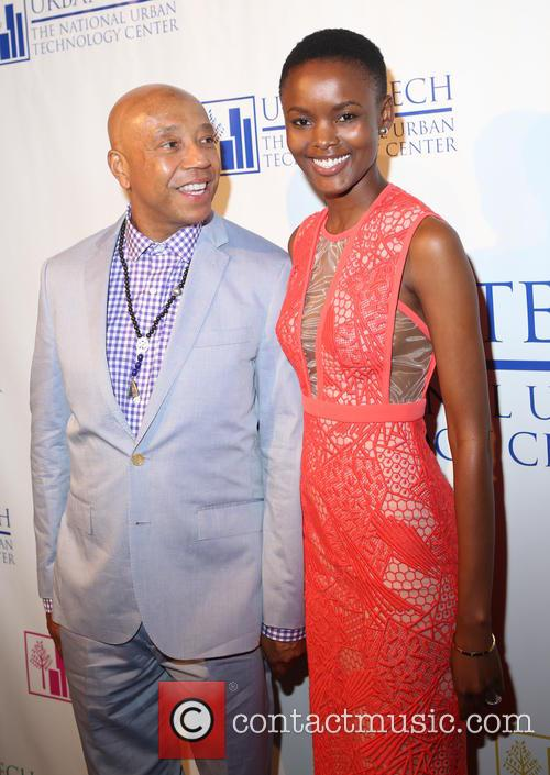 Russell Simmons and Flaviana Matata 9