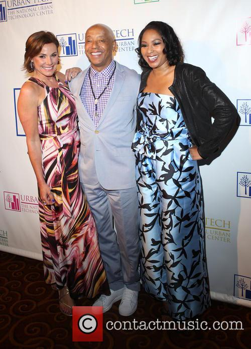 Luann De Lesseps, Russell Simmons and Alicia Quarles 2