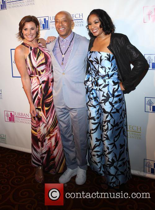 Luann De Lesseps, Russell Simmons and Alicia Quarles 1