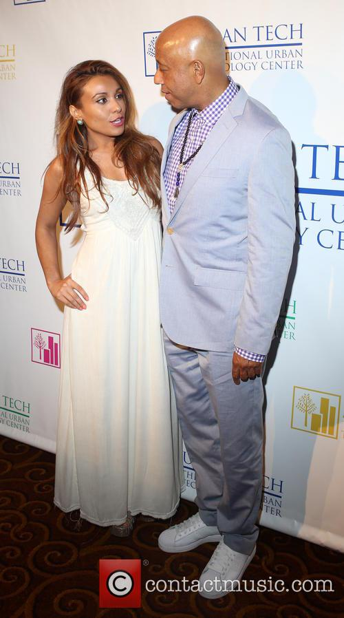 Leslie Lopez and Russell Simmons 1