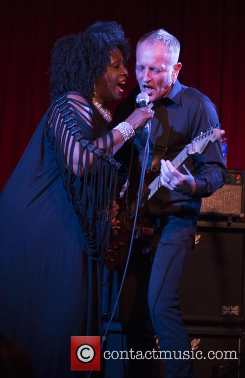 Debbi Blackwell-cook and Phil Collen 4