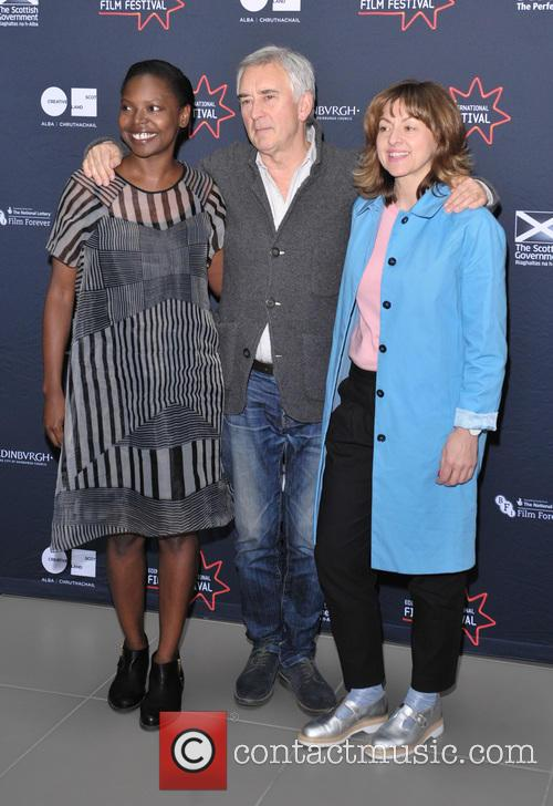 Jaqueline Lyanga, Denis Lawson and Jo Hartley 1