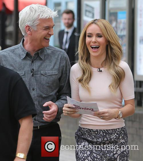 Amanda Holden and Philip Schofeild 2
