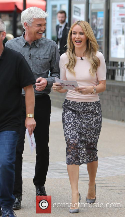 Amanda Holden and Philip Schofeild 3