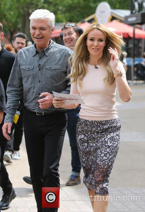 Amanda Holden and Philip Schofeild 4