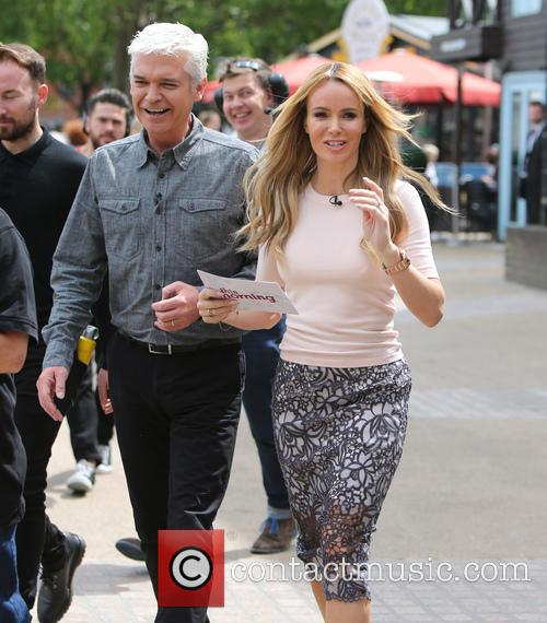 Amanda Holden and Philip Schofeild 5