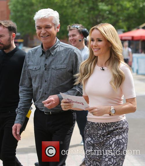 Amanda Holden and Philip Schofeild 7