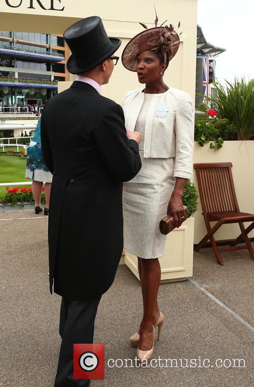 Denise Lewis and Gok Wan 2