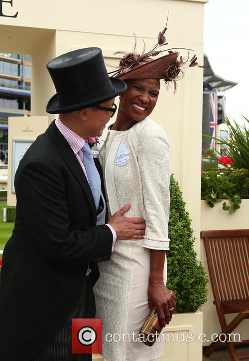 Denise Lewis and Gok Wan 1