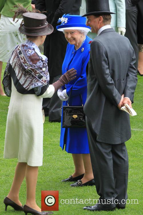 Anne, Princess Royal and Queen Elizabeth Ii 9