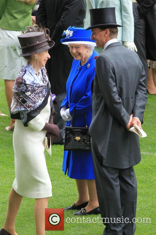 Anne, Princess Royal and Queen Elizabeth Ii 11