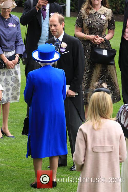 Prince Edward, Earl Of Wessex and Queen Elizabeth Ii 4