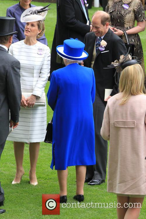 Prince Edward, Earl Of Wessex, Sophie, Countess Of Wessex and Queen Elizabeth Ii 7
