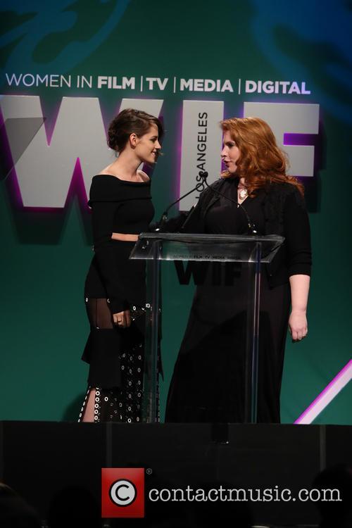 Kristen Stewart and Stephanie Meyer 2