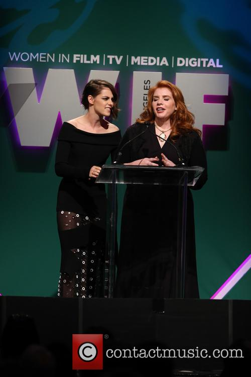 Kristen Stewart and Stephanie Meyer