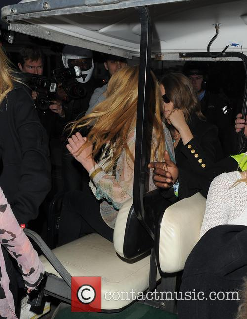 Cara Delevingne, Clara Paget and Suki Waterhouse 5
