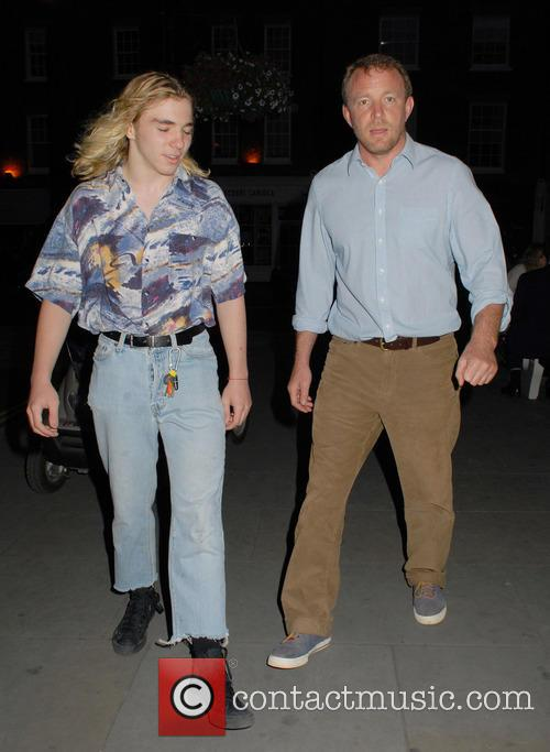 Rocco Ritchie and Guy Ritchie 2