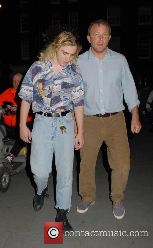 Rocco Ritchie and Guy Ritchie 3