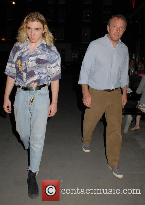 Rocco Ritchie and Guy Ritchie 5