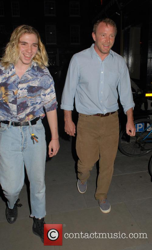 Rocco Ritchie and Guy Ritchie 6