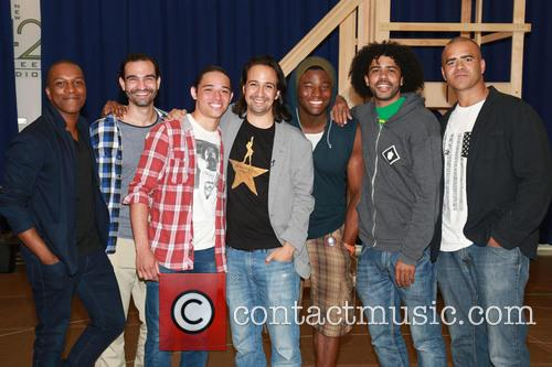 Broadway musical 'Hamilton' photocall