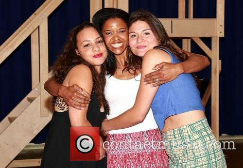 Jasmine Cephas Jones, Renee Elise Goldsberry and Phillipa Soo 3