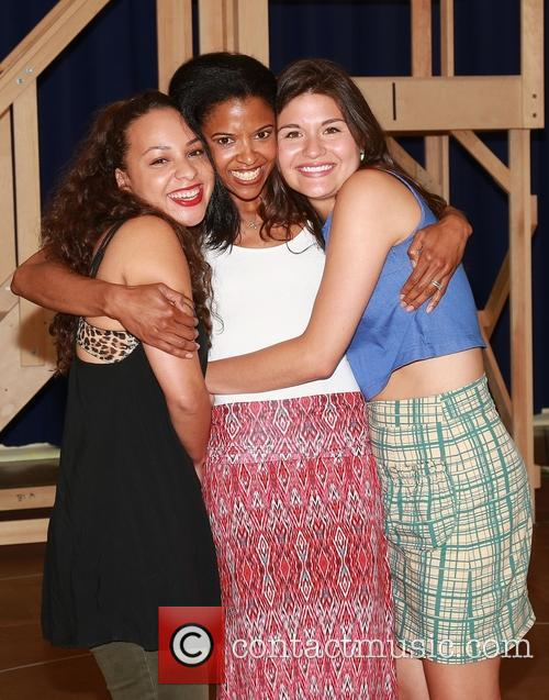 Jasmine Cephas Jones, Renee Elise Goldsberry and Phillipa Soo 1