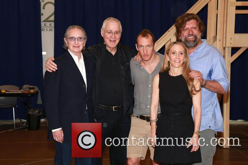Sander Jacobs, Ron Chernow, Jeffrey Seller, Jill Furman and Oskar Eustis 3