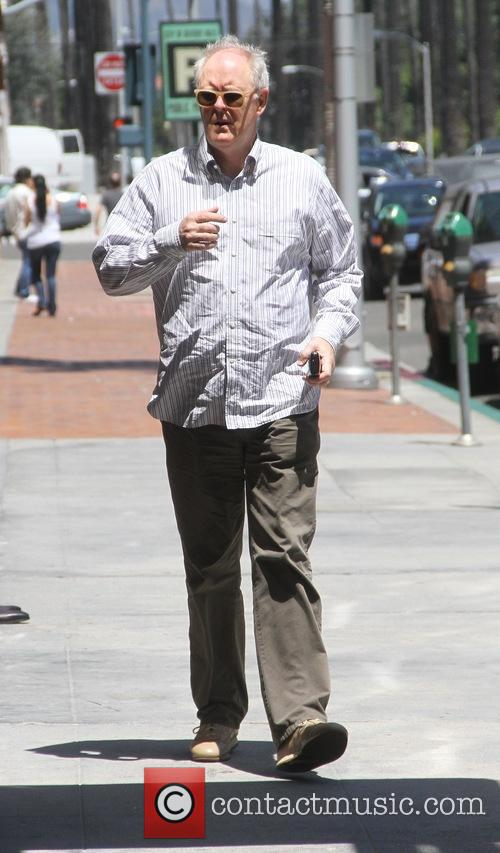 John Lithgow out and about running errands