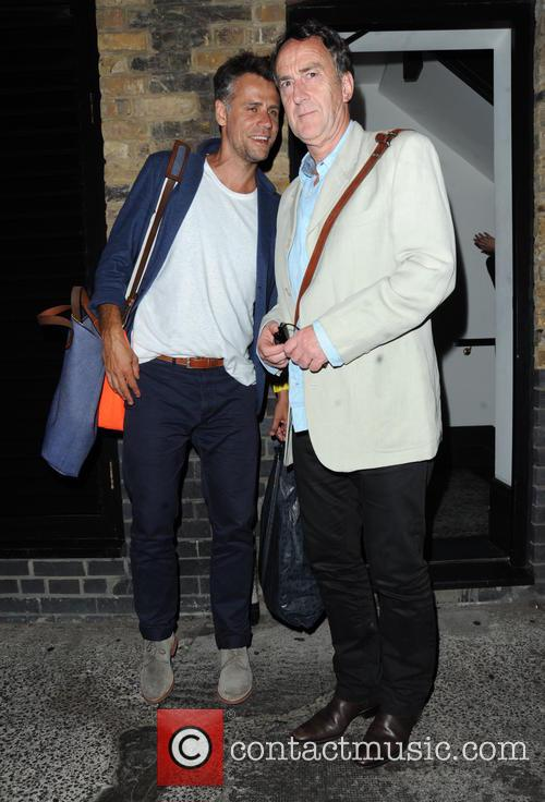 Richard Bacon and Angus Deayton 5