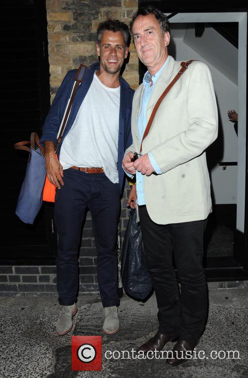 Richard Bacon and Angus Deayton 6