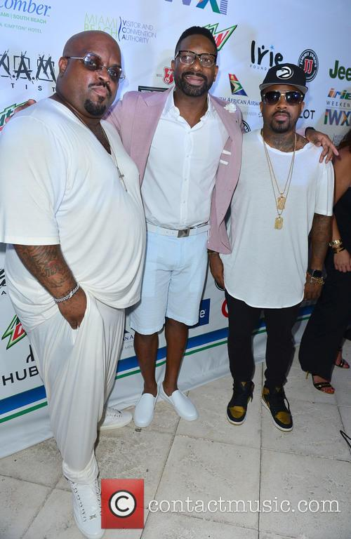 Cee Lo Green, Dj Irie and Jermaine Dupri 3