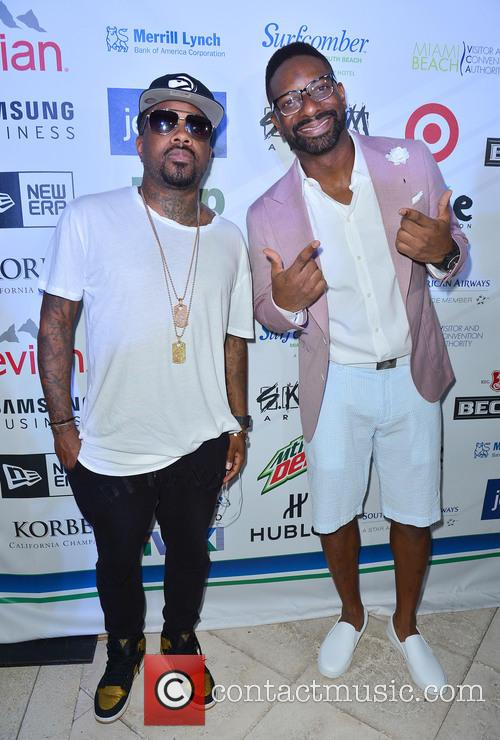 Jermaine Dupri and Dj Irie 3